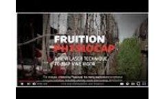 Physiocap Mapping : vineyard wood biomass, laser measurement- Video