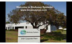 BioAssay Systems Training - Video