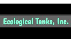 Aqua Safe - Model TRIO Series - Compartment Fiberglass Tank