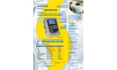 Milkotester - Model Master ECO - Milk Analyzers - Brochure