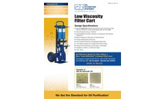 OFS - Low Viscosity Filter Cart - Brochure
