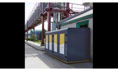 Koza Industrial / Hazardous - Contaminated Waste Storage Unit - Video