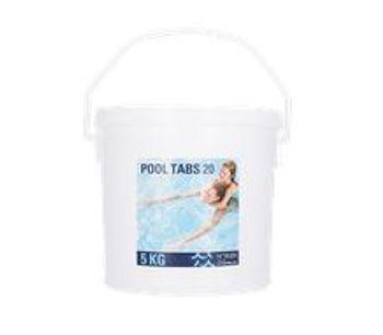 Pool Tabs - Model 20g - 1, 5, 10 KG - Non-Stabilized Chlorine