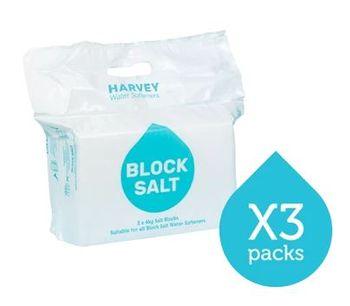 John-Harvey - Model WS003 - 3 Packs Block Salt