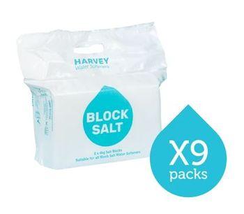 Harvey - Model WS009 - 9 Packs Block Salt