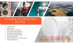 Real-Time Systems for Water & Environment- Brochure
