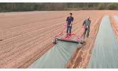 errateck - Manual mulch layer for woven mulch - Video