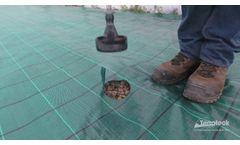 Terrateck - Plastic hole burner for mulch - Video