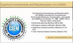 Definition - Superfund Amendments and Reauthorization Act (SARA)- Video