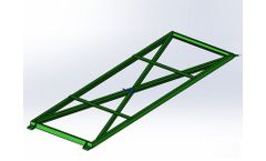 Silver-Lake - Steel Frame Foundation Modular Mobile Truck Scale