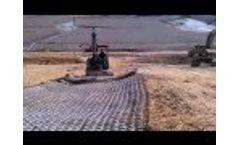 Flexamat Landfill Down Drain - 16` x 50` roll - Video