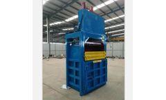 JH - Model VB9803 - Waste scrap vertical baler baling machine for plastic/paper/cardboard/string/strapping