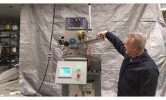Gear Blank Eddy Current Inspection Machine - Video