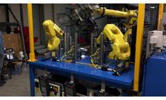 Brake Rotor Eddy Current Inspection Machine - Video