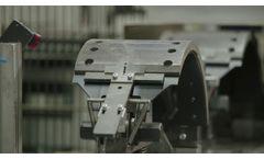 BPW Brake Shoe Production in Brüchermühle - Video