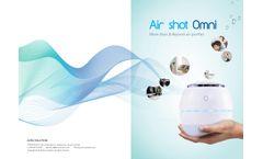 ACRO - Model Airshot Omni - Air Purifier - Brochure