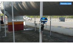 Non invasive Ultrasonic Level Sensor for LPG Tank - Video