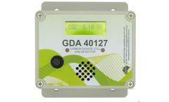 Model GDA 40127 - Carbon Dioxide Gas Detection Controller