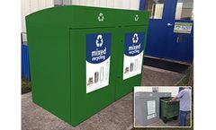 Fibrex - Model RRD2 - Dual Stream Revolve Recycling Container
