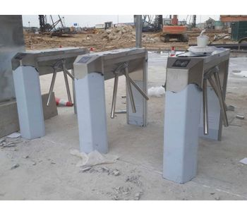 Turnstile gate installation-2