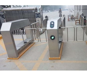 Turnstile gate installation-3