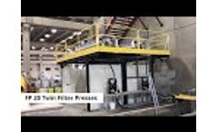 Redimix Slurry Water Recycling - FCW Twin FP20 - Video