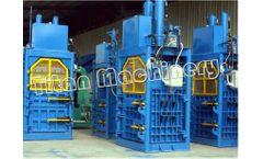 Titan - Model Y82/HPM/HPA Series - Paper Baling Machine