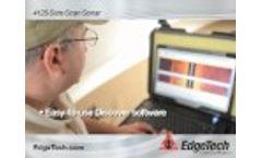 EdgeTech - 4125 Side Scan Sonar Demonstration - Video