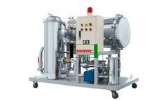 Zanyo - Model ZYC - Stainless Steel Cooking Oil Purifier