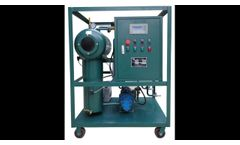 Transformer Oil Filtration Machine/Portable oil purification system-ZANYO Oil Purifier Manufacture - Video