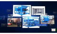 Transformer oil purifier manufacture - Video