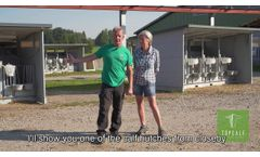 Topcalf Calf Housing: The farmer`s experience (English subtitles) - Video