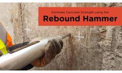 Estimating Concrete Strength Using the Rebound Hammer | Non-Destructive Testing - Video