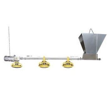 Huabo - Broiler Pan Feeding System