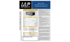IAP-Air - Model A-1100-MINI - Residential / Commercial Air Purifiers-  Brochure