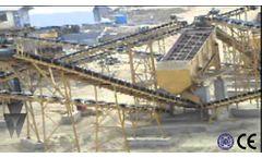 Aggregate Crushing Plant In Saudi Arabia. - Video