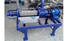 Shunxin - Cow Dung Dewatering Machine