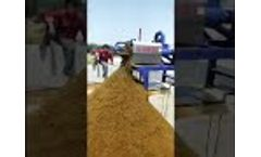 Compost Equipment Manufacturing, Working, Onsite Installation, Design, Delivering - Video