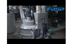 (FDSP) 3-5tph extruding aqua feed production line - Video