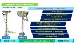 Unicare - Model LSE-02 SS - Emergency Eyewash Station in Bangladesh