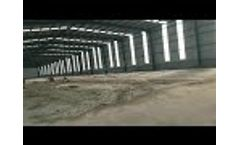 Proper Venue for Composting Poultry Manure by Using Shunxin Organic Fertilizer Production Plant - Video