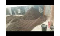 Chicken Manure Organic Fertilizer Production Line in Client Site- Video