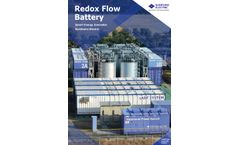 Redox Flow Battery - Brochure