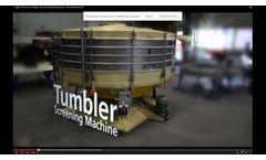 Allgaier Process Technology | Screening Technology | Tumbler Screening Machines TSM/tsi - Video