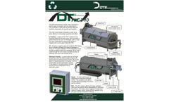 DTE - Model 3-10 - Food Waster Composter - Brochure