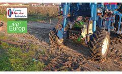 Vine Shoot Shredder on High-clearance tractor- Video