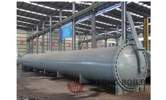 Sitong - Model FGZCS1 - Autoclave for AAC Plant & Wood Preservation