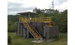 NARO Water Solutions - Model Wastewater Treatment - MBR (Membrane Bio Reactor)