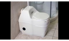Sun-Mar Composting Toilet - Video