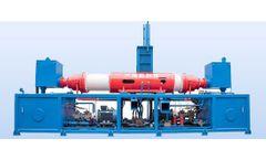 Dalongkai - Model Y83-1000 Series - Double-Cylinder Briquetting Press